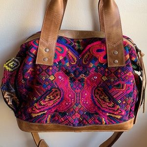 HLV Huipil Convertible Bag